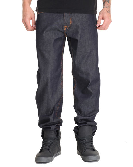 Lrg Men Core Classic C47 Denim Jean Dark Wash 30