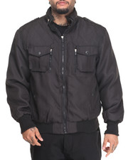Outerwear - ZIP-UP JACKET WITH POCKET DETAIL (B&T)