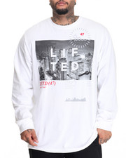 LRG - High City Life L/S T-Shirt (B&T)