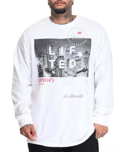 Lrg - Men White High City Life L/S T-Shirt (B&T)
