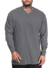 Basic Essentials - Lightweight L/S V-Neck Thermal (B+T)