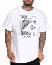 LRG - LRG Gridlock Box T-Shirt (B&T)