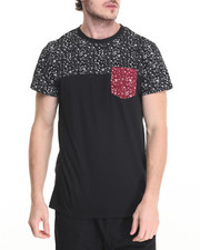 Men - Splatter Pocket Tee