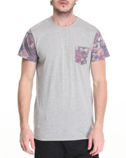 Buyers Picks - Faded Floral Pckt Tee