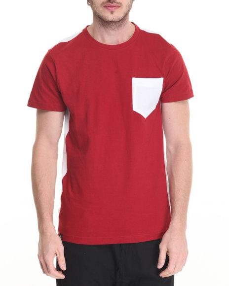 Akademiks - Men Maroon Uptown T-Shirt