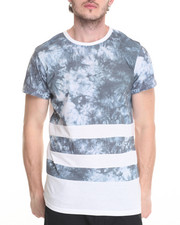 Men - Faded Indigo Tie Dye Tee
