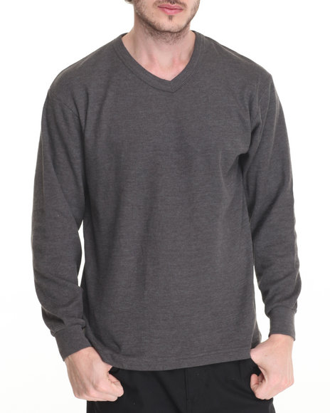 Basic Essentials Charcoal Thermals