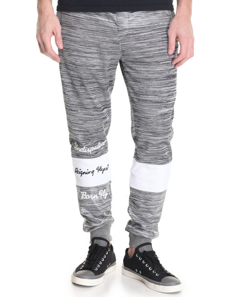 Born Fly - Men Grey Cazenovia Joggers