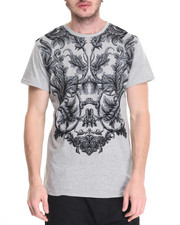 Men - Flocked Filigree Tee