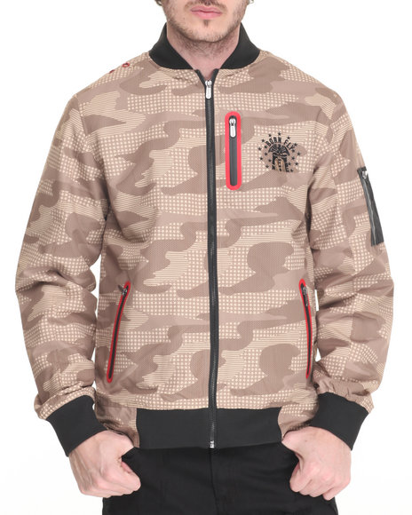 Born Fly - Men Khaki Chamelion Jacket