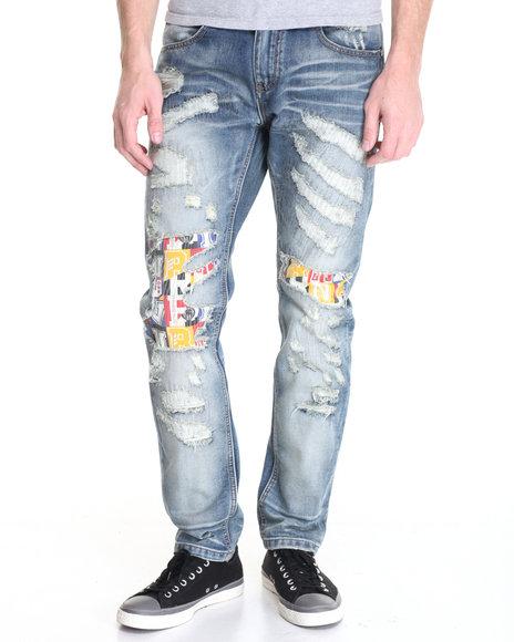 Born Fly - Men Medium Wash Beacon Jeans - $84.00
