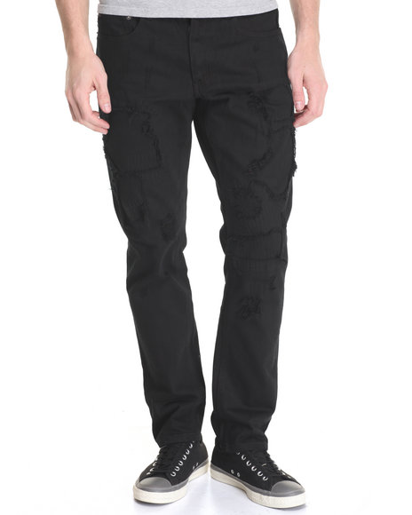 Born Fly - Men Black Knight Jeans - $58.00