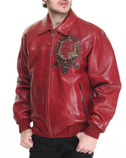 Outerwear - Last Man Standing Leather Jacket