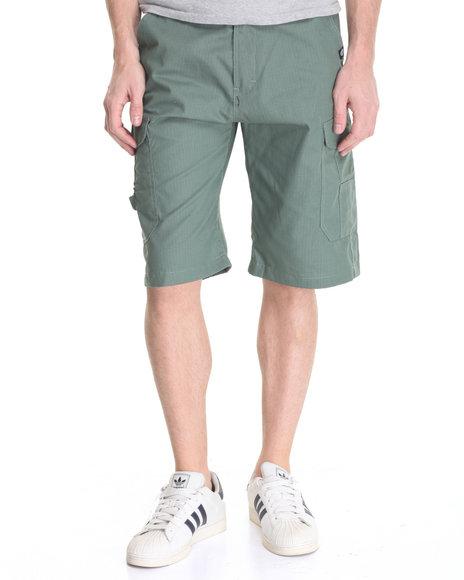 Akademiks - Men Green Beekman Ripstop Cargo Short