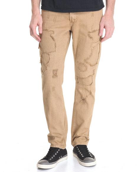 Born Fly - Men Khaki Knight Jeans