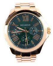Rocawear - Genius Dial Metal Band Watch