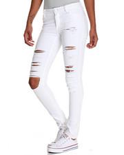 Jeans - Heavy Rips Twill Skinny