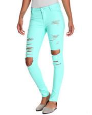 Pants - Heavy Rips Twill Skinny