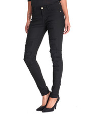 Bottoms - Rips & Repair Skinny Jean