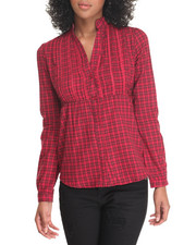 Tops - Plaid Tunic Top