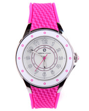 Jewelry - Textured Silicone Band Watch
