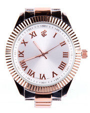 Accessories - Bling Face Metal 2-Tone Watch