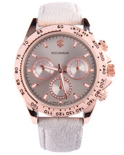 Rocawear - Spring Leather Band Watch