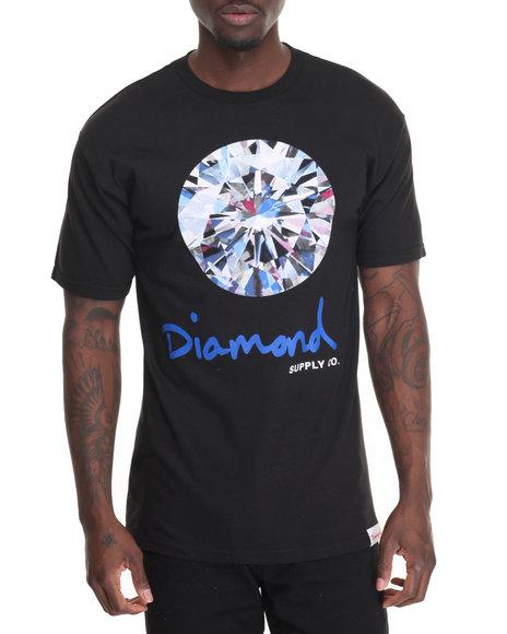Diamond Supply Co - Men Black Brilliant Tee