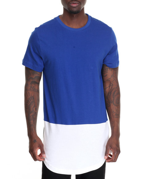 Akademiks - Men Blue Rule T-Shirt