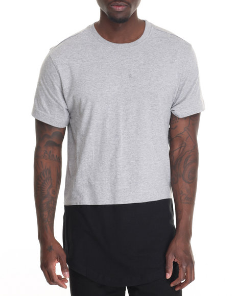 Akademiks - Men Grey Rule T-Shirt