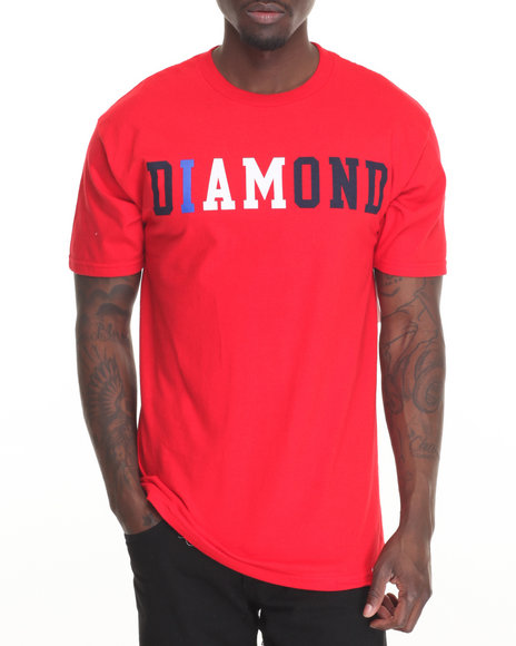 Diamond Supply Co Men I Am Tee Red X-Large