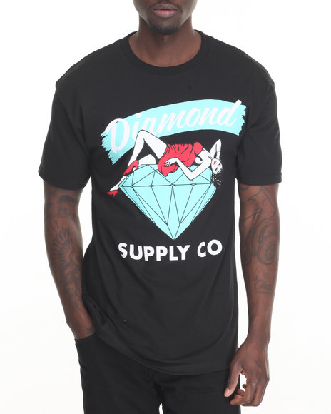 Diamond Supply Co Men Vices Tee Black X-Large