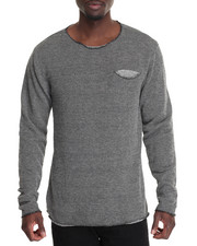 Men - Raw Edge Pocket Sweater
