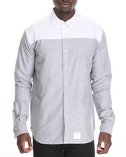 Button-downs - Blocked Oxford L/S Button-down