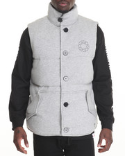 Vests - DTC Tech Fleece Puffer Vest