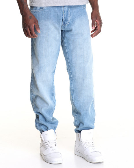Buyers Picks - Belted Denim Jean w Contrast Stitching