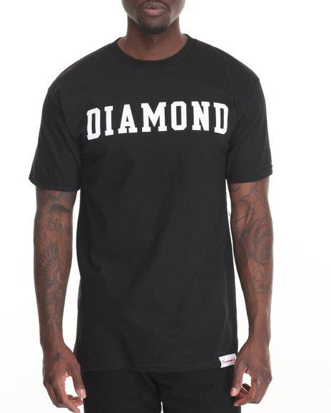 Diamond Supply Co - Men Black Diamond Block Tee