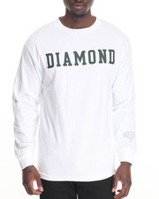 Shirts - Diamond Block L/S Tee