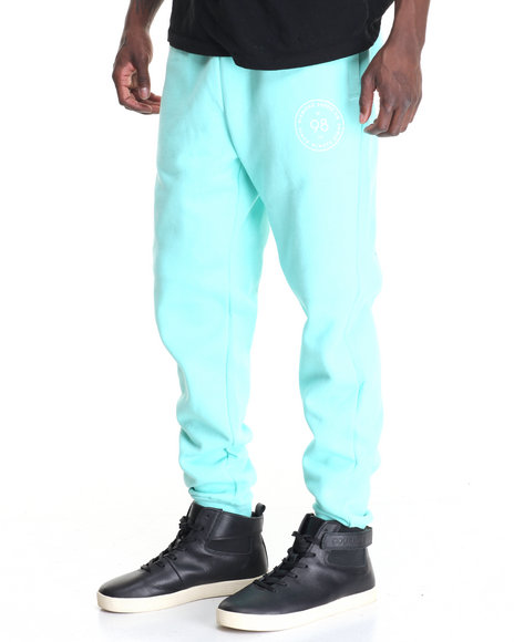 Diamond Supply Co Men Circumference Sweatpants Teal X-Large