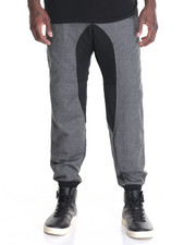 Men - Contrast - Crotch French Terry Jogger Pants