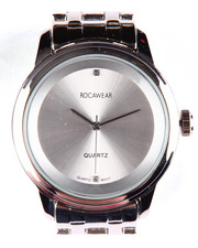 Rocawear - Round Face Metal Band Watch