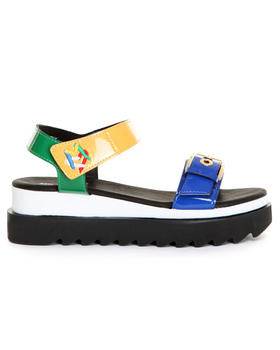 -FEATURES- - TWO-STRAP SANDALS