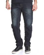 Basic Essentials - Ripple Effect Denim Jeans