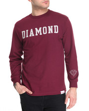 Men - Diamond Block L/S Tee