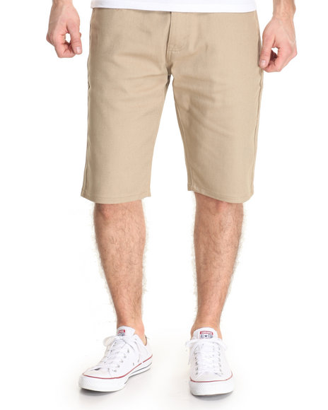 Akademiks Men Shady Straight Leg Short Khaki 38