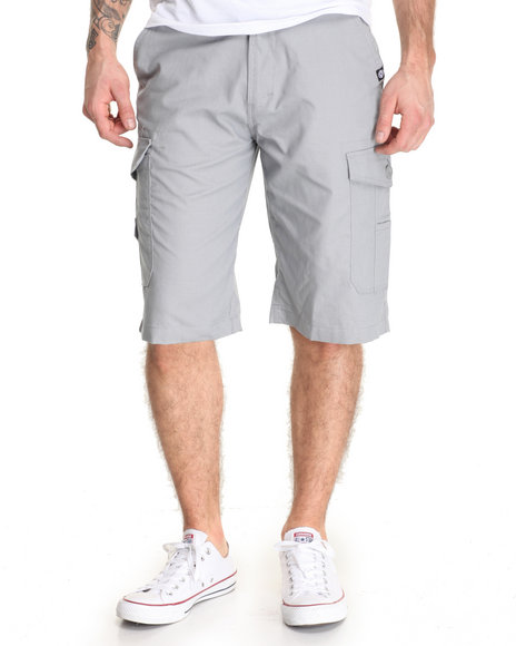 Akademiks - Men Grey Beekman Ripstop Cargo Short