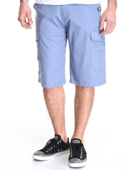 Akademiks - Men Blue Beekman Ripstop Cargo Short - $40.00