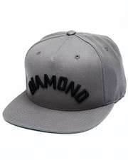 Men - Diamond Arch Snapback Cap