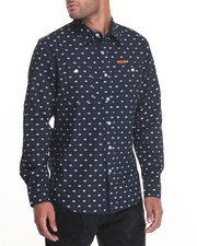 Parish - Printed L/S Button-Down