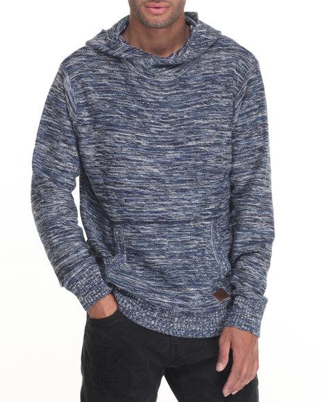 Parish - Men Navy Hoody Sweater